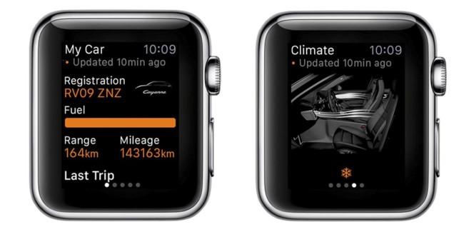Porsche Apple Watch