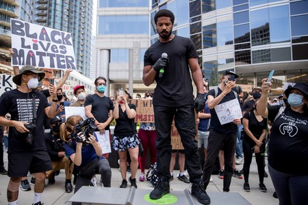 Black Lives Matter Michael B Jordam