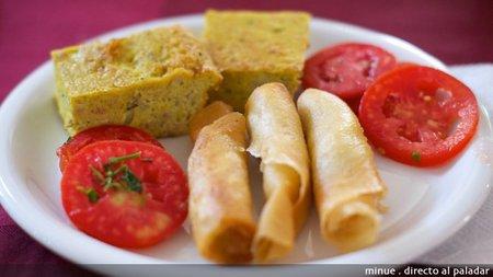 Gastronomía tunecina - dedos de fátima