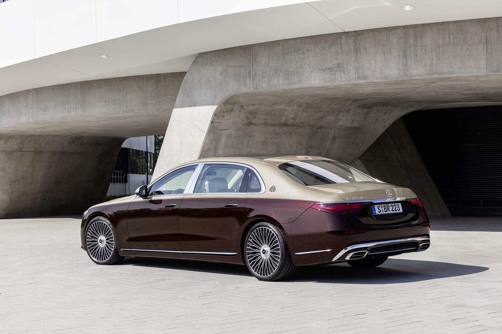Foto de Mercedes-Maybach Clase S 2021 (20/43)