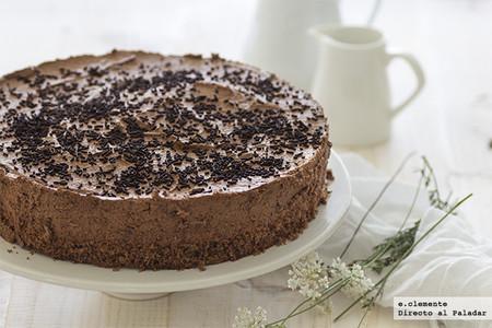 Tarta de mousse de chocolate: receta para un pastel sin horno que se deshace en la boca