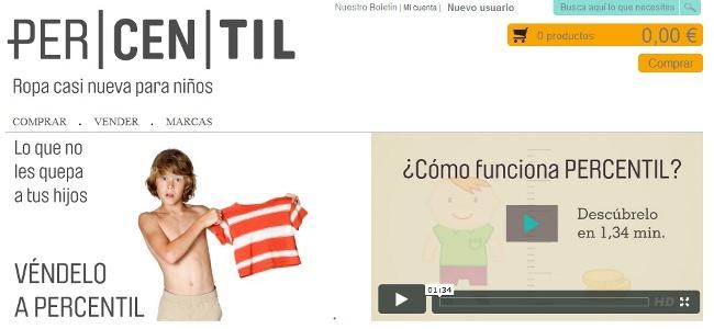 ercentil, la consolidación de la tienda online de ropa infantil de segunda mano