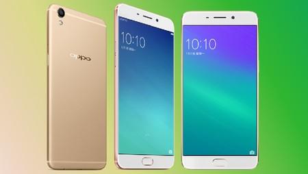 Imagen no oficial del Oppo R9s