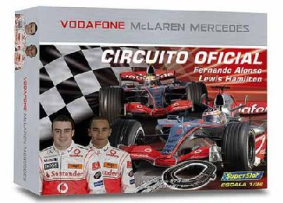 Circuito oficial McLaren Mercedes. Los de marketing no se enteran