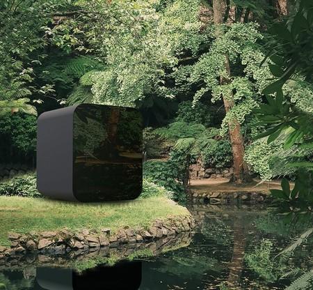Módulo para instalar en el jardín para teletrabajar