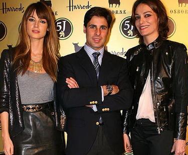 Fran Rivera y Ariadne Artiles llevan jamón a Londres