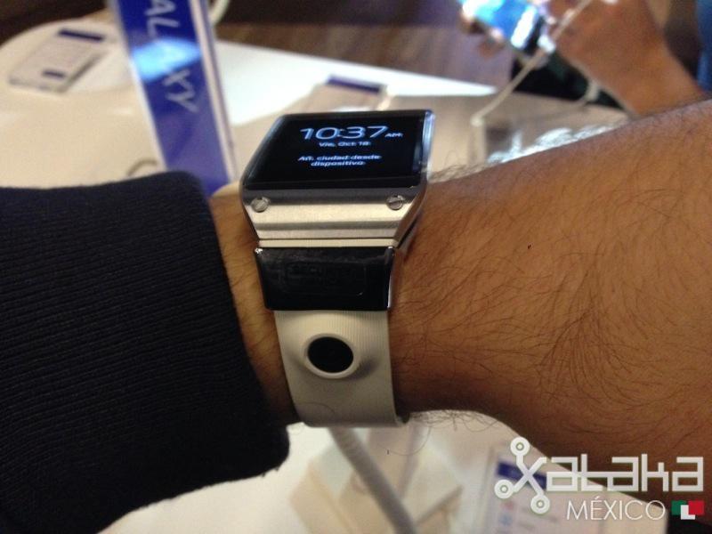 Foto de Samsung Galaxy Gear en México (8/12)