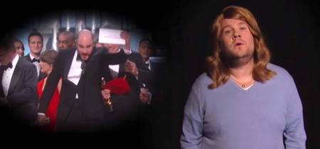 James Corden realiza la parodia definitiva del final de los Oscars