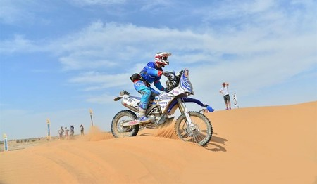 Nacho Sanchis Rally Merzouga Domingo 2