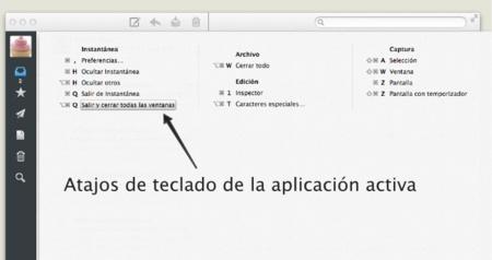 CheatSheet, consulta los atajos de teclado de tus aplicaciones