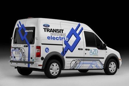 Ford traerá la Transit Connect eléctrica en Europa en 2011