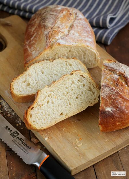 Pan rústico de trigo