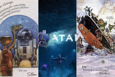 Un taquillazo llega, otro se va: los póster homenaje entre las películas más vistas de siempre