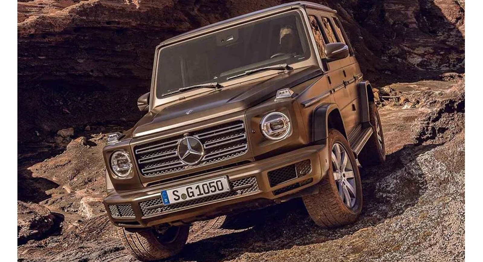 Mercedes-Benz Clase G 2018, imágenes filtradas