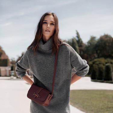 Los vestidos de punto de Mango son perfectos para lucir los looks de día más cómodos y calentitos en invierno