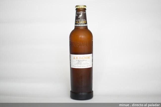 Cata de cerveza Ak Damm - botella