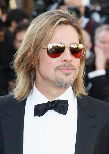 Y Brad Pitt pisó Cannes, ¡pedazo de alfombra roja!
