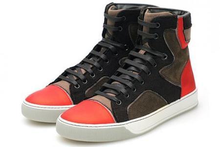 Lo nuevo de Lanvin para esta temporada: High Trainer sneaker