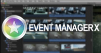 Event Manager X, gestiona los eventos y proyectos de Final Cut Pro X