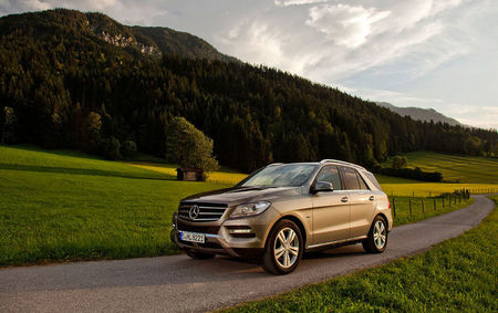 Mercedes-Benz ML500 4MATIC BlueEFFICIENCY, pronto en Europa
