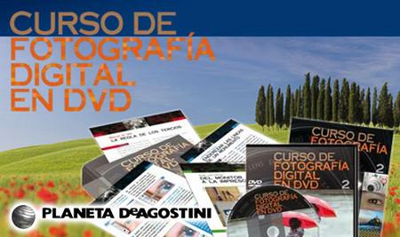 Curso de fotografía digital en DVD, de Planeta de Agostini