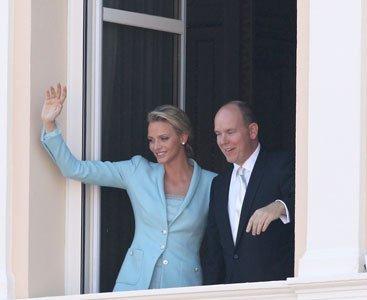 El look de Chalene Wittstock en su boda civil con el Príncipe Alberto II de Mónaco