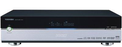 El primer reproductor de HD-DVD de salón, ya a la venta