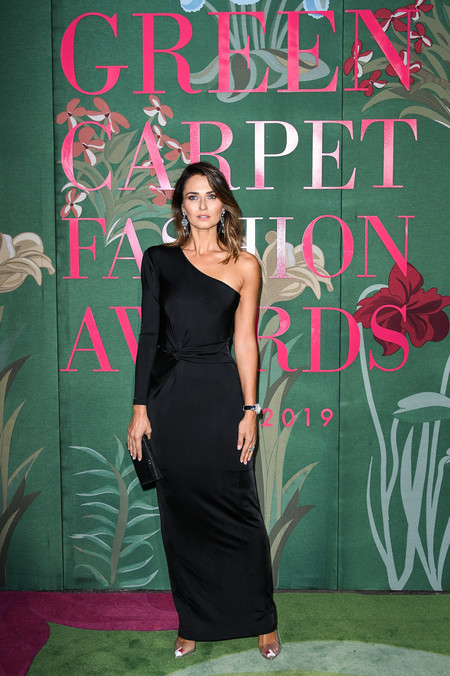 Anna Safroncik green carpet fashion awards 2019