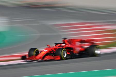 Leclerc Barcelona F1 2020 2