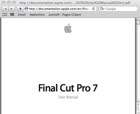 Final cut 7 manual pdf