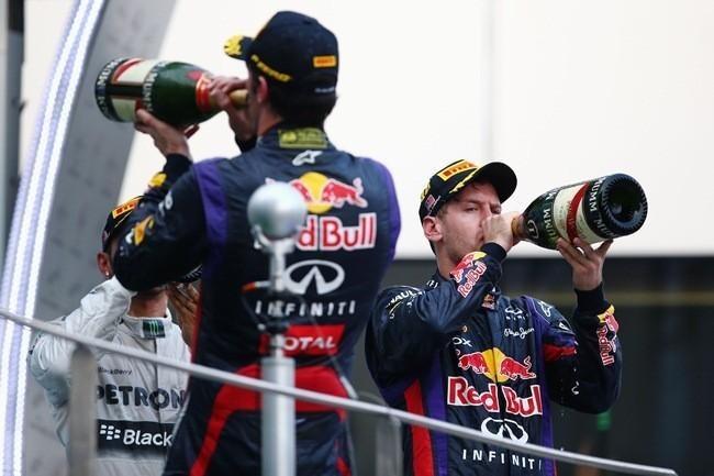 Vettel Webber Sepang