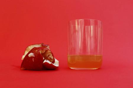 ¿Cuánto zumo contiene cada fruta?