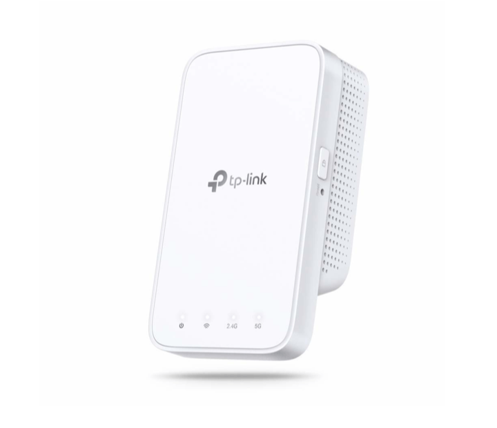Repetidor WiFi - TP-Link RE300 Dual WLAN AC + N, 867Mbps 5GHz, 300Mbps 2.4GHz, Blanco