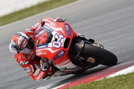 Andrea Dovizioso Motogp 2015 Ducati Sepang