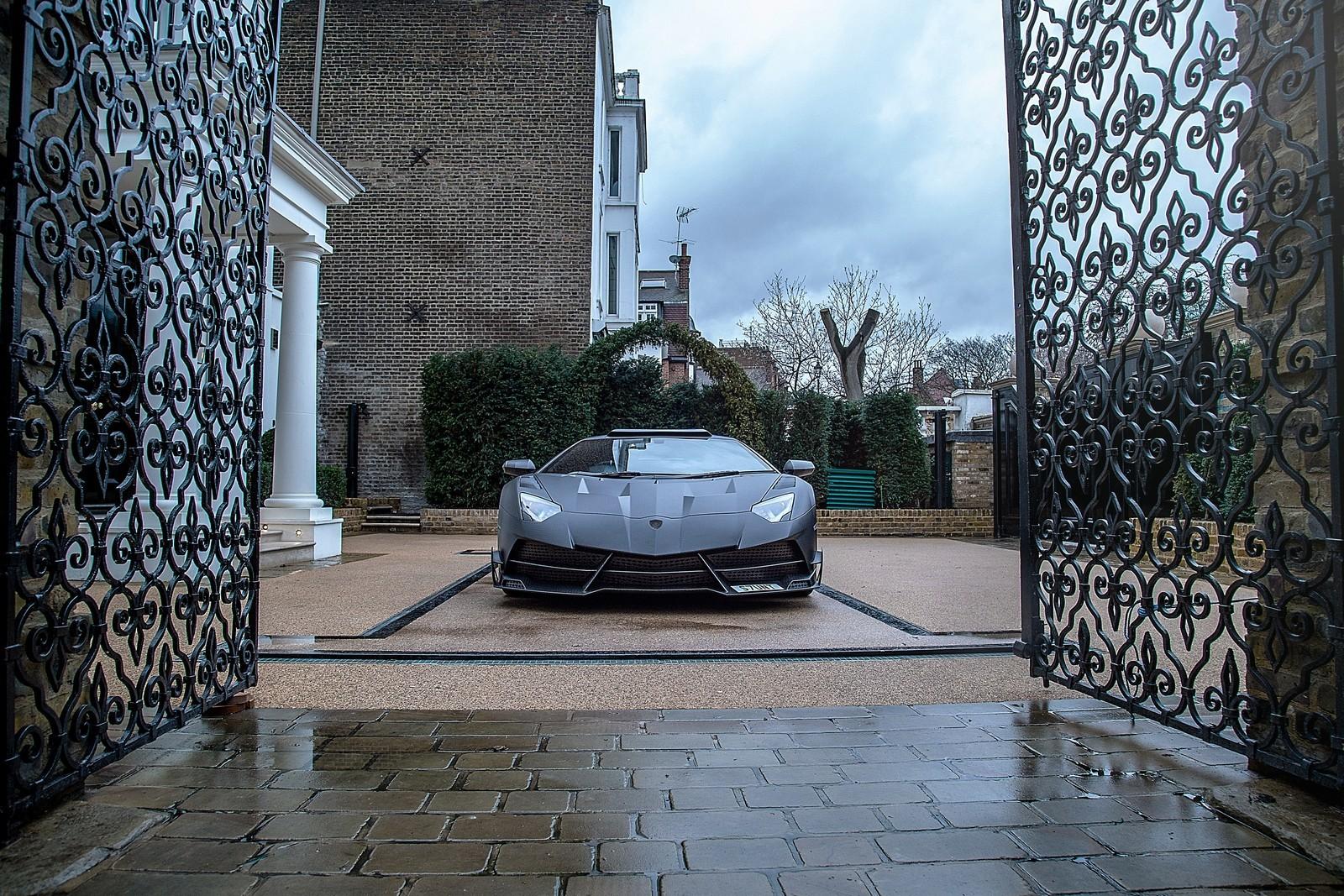 Foto de Mansory Lamborghini Aventador SV JS1 (9/10)