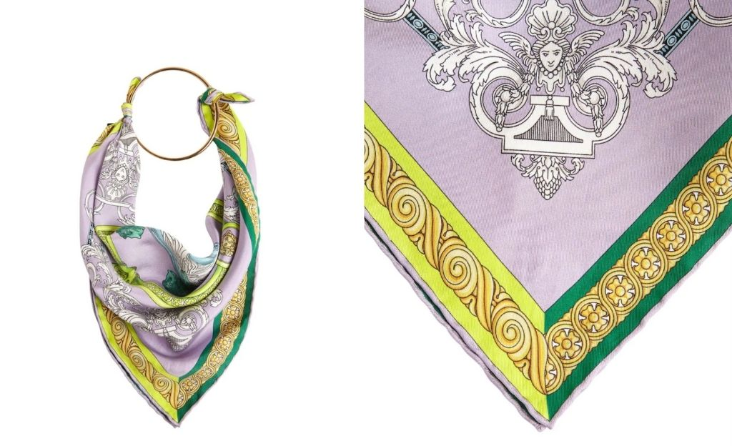 Pañuelo bandana de Versace