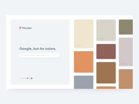 """Picular: """"el Google de los colores"""""""