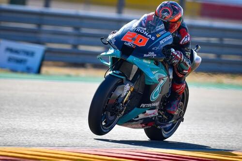 ¡Diabólico! Fabio Quartararo se sobrepone a una brutal caída en MotorLand para hacer otra pole position