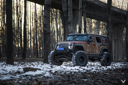 Jeep Wrangler Hunting Unlimited by Vilner, temblarán hasta los lobos