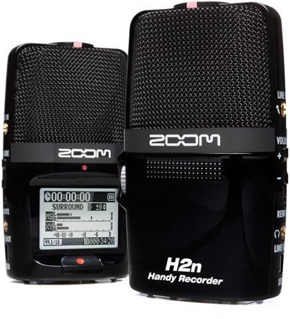 Zoom H2n, una grabadora con estilo