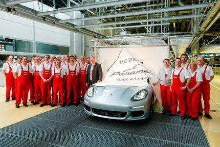 100.000 Porsche Panamera fabricados en Leipzig