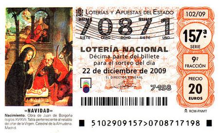 La aplicación de la retención a los premios de la lotería en las participaciones del sorteo de Navidad