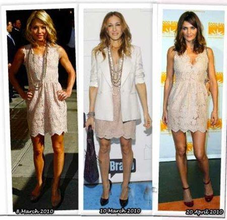 Vestido de Stella McCartney: ¿Sarah Jessica, Kelly o Helena?