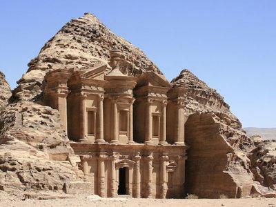 Jordania desde el aire, unas vistas hipnóticas de sus áridos paisajes