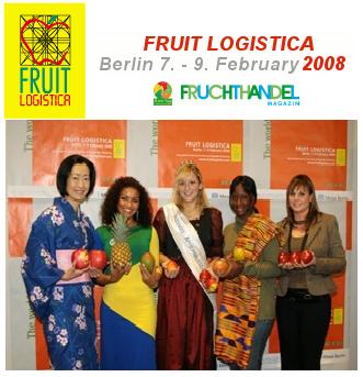 Fruit Logística 2008, punto de reunión de la hortofruticultura internacional