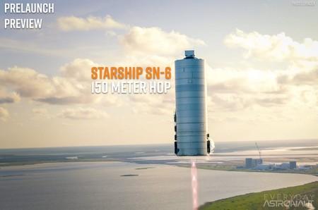 Contempla el glorioso vuelo del prototipo del cohete Starship de SpaceX