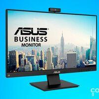 El monitor ideal para teletrabajar y hacer videoconferencias es el ASUS BE24EQK y en Amazon lo tienes más barato