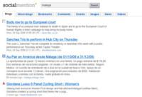 Socialmention, búsquedas de conversaciones en la web