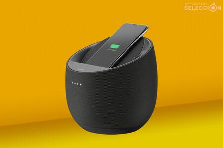 El altavoz Belkin SoundForm Elite con AirPlay 2 y Alexa también es base de carga Qi y está de oferta a 149 euros en Amazon