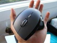 Logitech MX Revolution Mouse en primer plano